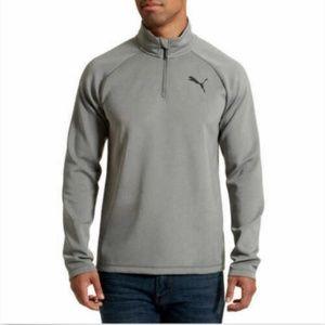 Puma Accessories - PUMA Men Long Sleeve 1/4Zip Ess Active Runner Pull